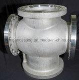 ステンレス鋼の鋳造のバルブ本体を投げる精密