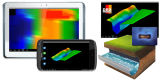 3D Scaner subterráneo/detector de metales/explorador del oro Detector/3D
