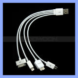 4 in 1 USB Multi Charger Cable für iPhone 5 5s 4s Samsung S3 S4 S5 Note 2 Note 3