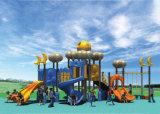 Equipo al aire libre comercial HD-Tse001 del juego de niños del patio