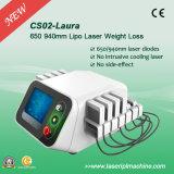 Liposuction de la pérdida de peso del laser Cryolipolysis del diodo de CS02 650nm