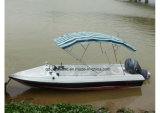 Aqualand 19feet 6m Fiberglass Water Taxi /Passenger Ferryboat für Shallow Water (190)