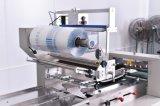 Palier de sachet en plastique d'usine de boulangerie petit enveloppant les machines d'empaquetage horizontales de matériel pour la machine à emballer de flux de gâteau de pain