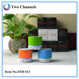 El soporte SD micro del altavoz de S11 Bluetooth con las manos libera la función (STD-S11)