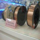 produto plástico da soldadura do fio de soldadura do MIG do fio do MIG do carretel 15kg/D270 de 0.9mm com o cobre revestido
