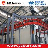 Industrielle Puder-Beschichtung/Farbanstrich-Gerät mit automatischem Förderanlagen-System