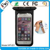 Malote impermeável impermeável do telefone de pilha do malote plástico para o telefone móvel
