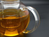 1000ml Hittebestendige Glass Teapot met Infuser Coffee Tea Leaf Herbal (die van borosilicateglas 3.3 wordt gemaakt)