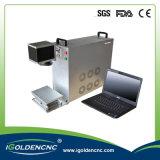 Máquina portable aprobada de la marca del laser de la fibra del precio de fábrica del Ce mini