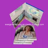 Eccellente dimagrire 4.3 cartolina d'auguri personalizzata schermo di pollice TFT la video per fare pubblicità