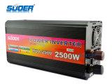 Suoer Power Inverter 2500W Solar Power Inverter 24V a 220V recarregável Inversor para Uso Doméstico com CE & RoHS (HDA-2500B)