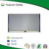 5 monitor del LCD de la pantalla táctil de la pulgada TFT con la tarjeta de programa piloto