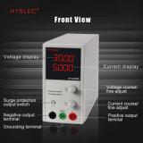 Rifornimento di corrente continua di modo di commutazione di alta precisione di Peakmeter/Hyelec Hy3005b