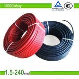 Cable aprobado de la energía solar de la C.C. del cable eléctrico del TUV (1X2.5mm2)