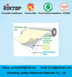 Feuille de imperméabilisation adhésive de polymère de HDPE utilisée sur le souterrain