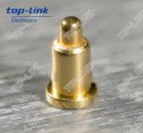 Pin d'ottone caricato a molla di Pogo con il diametro 0.6
