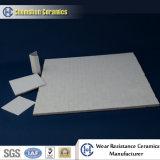 92% Desgaste de alúmina de cerámica hexagonal Mat para el sistema de manejo de materiales