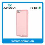 Caja del teléfono celular de la protección de la batería de la potencia del cargador del recorrido para el iPhone 6 2000mAh