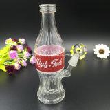 [بونتك] كولا زجاجة جهاز حفر نارجيلة زجاجيّة يدخّن [وتر بيب]