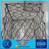 Casella galvanizzata di Gabion ricoperta PVC