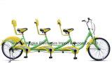 24 bicicletas em tandem da polegada, três bicicletas, bicicleta Tourist (YK-TDB-004)