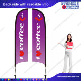 Знамя флага пера напольный рекламировать печатание полного цвета изготовленный на заказ