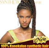 2016년 머리 끈목 제품 100%년 Kanekalon 엄청나게 큰 끈목 합성 머리 연장 주식은 상품 유효한 Lbh017를 나눈다
