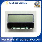 Carácter CLCM 8X1 COG Módulo LCD con conector positivo FPC
