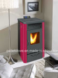 Indoor Usando Ce Certified Automatic Pellet Air Stove com Controle Remoter