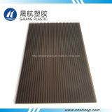 Holle Blad van het Polycarbonaat van de Kleuren van de douane het Plastic voor Dak Buildind