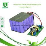 pacchetto 24V 6ah della batteria dello Li-ione con BMS/PCM per il robot