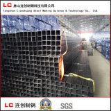 Tubo de acero negro engrasado con la tela impermeable