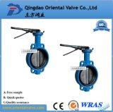 Tipo Ductile válvula do talão do ferro do ANSI 150 da tabela D/E de borboleta da flange feita em China