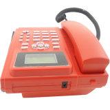 Teléfono de escritorio del G/M del color rojo (KT1000-130C)