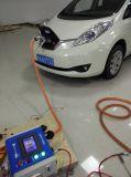 Estação cobrando cobrando rápida do veículo eléctrico EV da C.C.