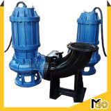 Bomba de água de esgoto submergível da descarga com acoplamento