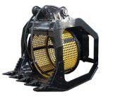 360度掘削機/油圧スクリーナーのバケツのための回転スクリーンのバケツ