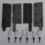PAのスピーカー(33)のためのアルミニウム索具の部品が付いているラインアレイ