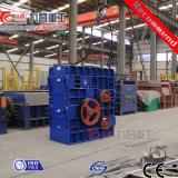 Rollen-dreistufige Zerkleinerungsmaschine China-vier verwendet für die Steine gebrochen mit ISO