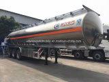55000L 알루미늄 합금 유조선 트레일러 가격 50 톤 연료 유조선 트레일러