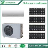 9000BTU C.C. 24V de alta tecnología del aire acondicionado solar de la red