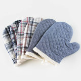 Calentar los guantes de algodón resistente seguridad Horno Microondas