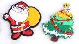 Venta al por mayor del imán del refrigerador del PVC Sofe de los regalos de Navidad