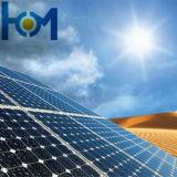 높은 태양 투과율 낮은 E 광전지 유리
