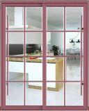 호두 천연색 필름 입히는 열 틈 알루미늄 미닫이 문