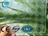 세륨, ISO (3-8mm)를 가진 실레지아 명확한 장식무늬가 든 유리 제품