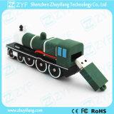 Movimentação feita sob encomenda do flash do USB da forma do motor dos trens do vapor (ZYF1065)