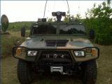 Fahrzeug eingehangene thermische und sichtbare Abdeckung-Kamera