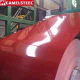 Prepainted гальванизированный стальной лист с пленкой