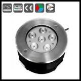 RF 원격 제어 LED 수중 빛